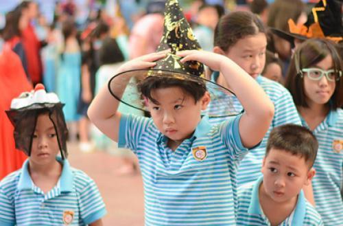 Trường Nguyễn Bỉnh Khiêm - Cầu Giấy chăm sóc và nuôi dưỡng học sinh