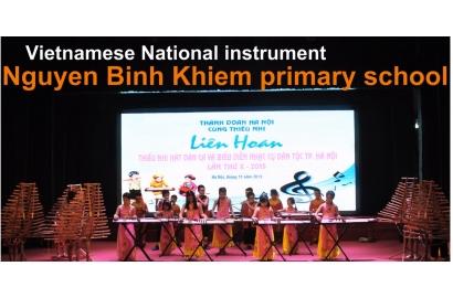 Phóng sự CLB nhạc cụ dân tộc - Trường tiểu học Nguyễn Bỉnh Khiêm