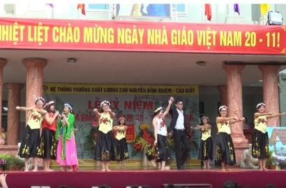 Bống Bống Bang Bang - phiên bản trường Nguyễn Bỉnh Khiêm - Cầu Giấy