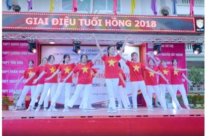 [Đài TH Hà Nội] Trường Nguyễn Bỉnh Khiêm đón nhân Huân chương lao động hạng Nhì