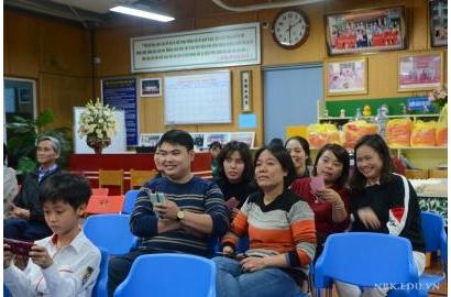 Họp Hội đồng Giáo viên - Cán bộ CNV mừng xuân mới Kỷ Hợi 2019