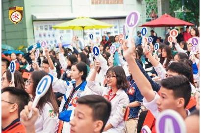 CÁC HS XUẤT SẮC KHỐI THCS KỲ I - NĂM HỌC 2018-2019 CHIA SẺ VỀ TRƯỜNG