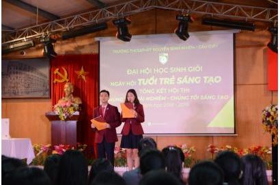 [Báo Giáo dục Việt Nam] Ngày hội tuổi trẻ sáng tạo, một nét đẹp mới của giáo dục tư thục