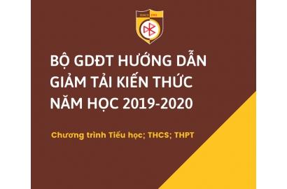 Bộ GD&ĐT hướng dẫn điều chỉnh nội dung dạy học học kì II năm học 2019-2020 dành cho các cấp học