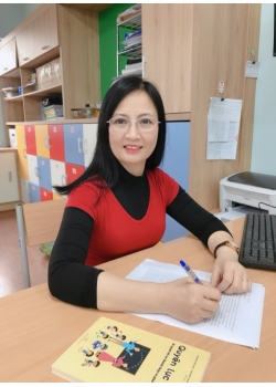 Nhà giáo Vũ Thị Kim Oanh