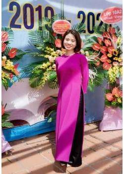 Nhà giáo Chu Thị Thùy Dương