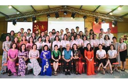 Sở GD&ĐT tỉnh Yên Bái; Trường THPT Vĩnh Yên đến thăm, giao lưu và học tập xây dựng Trường học hạnh phúc