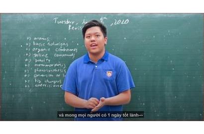 NBK's FACE - NÔNG HẢI PHONG (7.5 IELTS; 900/900 Toefl Junior)