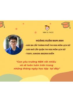 HOÀNG XUÂN NAM ANH