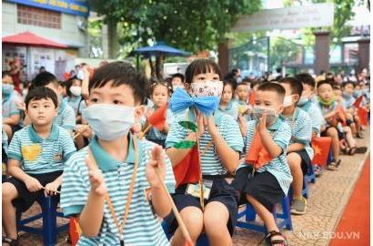 [Tienphong.vn] Học sinh đến trường để trải nghiệm và đón nhận hạnh phúc