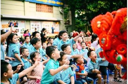 Trung thu yêu thương tại Trường Nguyễn Bỉnh Khiêm – Cầu Giấy