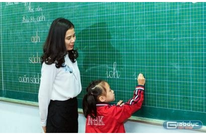 [GiaoducVietNam] Góc nhìn khác của cô giáo trường Nguyễn Bỉnh Khiêm về sách Tiếng Việt lớp 1