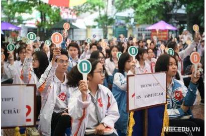 Cuộc thi tìm hiểu kiến thức pháp luật cho HS cụm Thanh Xuân - Cầu Giấy năm 2021