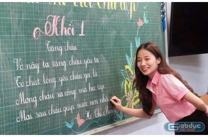[Giaoducc.net] Chỉ có yêu thương mới thuyết phục được học trò
